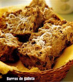 Barras de galletas