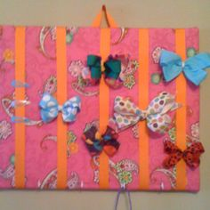 2nd view with bows and head band hooks