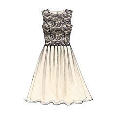 M7083, Misses' Dresses - Love the lace too