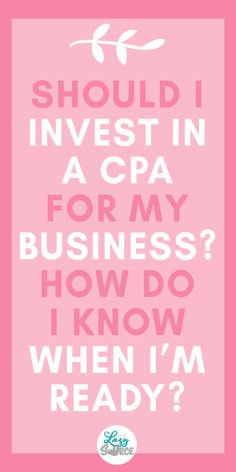 Do I Need to Invest in a CPA? : Wondering if you need a CPA for your small business? Check out this article! You need a CPA if. Make Money Blogging, Money Saving Tips, Business Tips, Online Business, Business Money, Business Planning, Money Management, Wealth Management, Business Management