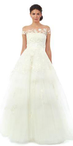 Oscar de la Renta - Oscar de la Renta Fall 2014 Wedding Dresses - InStyle Weddings - Celebrity - InStyle