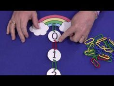 Rainbow Learning Links Number Sequence
