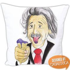 Almofada teoria da relatividade R$39,90