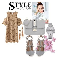 """""""Style passion"""" by armina-244 ❤ liked on Polyvore featuring Valentino, Komono and Gas Bijoux"""