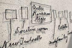The Barnes Foundation #pentagram #signage #design
