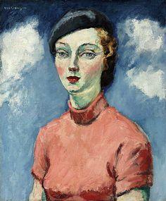 Dongen, Kees van (Dutch, French, 1877-1968) - La Femme au béret - 1936