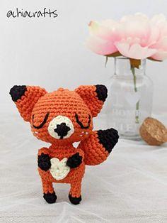 Ravelry: Heart Belly Fox pattern by Chiara Cremon
