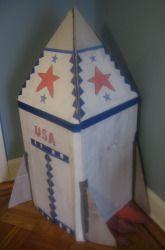 Third Grade Recycled Crafts Activities: Build a Rocket Ship