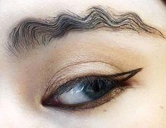 Новый странный тренд в Инстаграме: бровь-волна - Woman.ForumDaily