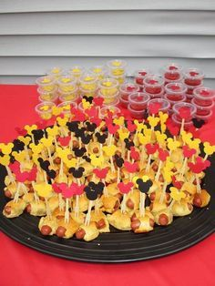 Mickey mouse party ideas: