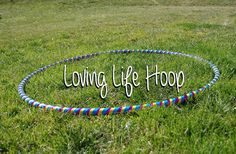 Polypro and HDPE Hoop: Collapsible Loving Life by HoopingforLife