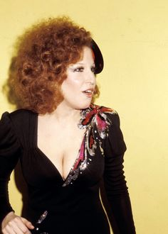 Bette Midler at The Grammy Awards, 1975