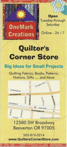 www.quilterscornerstore.com