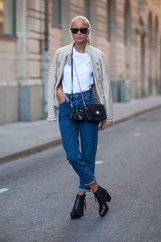 カッコ良し! Street Style Spring 2014: Stockholm Fashion Week