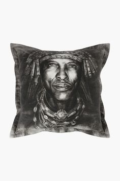 Printed Portrait Scatter Cushion, 55x55cm - Shop New In - Home Décor 2nd City, Home Decor Shops, Scatter Cushions, Looks Great, Portrait, Printed, Cover, Design, Small Cushions