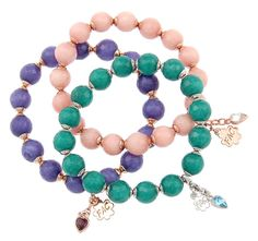 Lynne with Fifth Avenue Collection gorgeous stone Malaysian Jade bracelets with Swarovski crystals #shop www.fifthavenuecollection.com/ljohnston