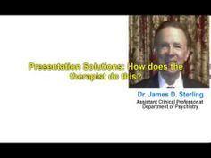 Dr. James D. Sterling Discusses his Work with Dr. Louis Ormont