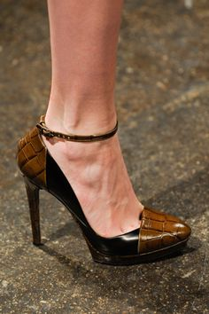 Donna Karan - love that it's 2 tone black/brown....