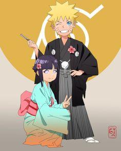 Naruto e Hinata (NaruHina) Naruhina, Himawari Boruto, Narusaku, Hinata Hyuga, Naruto Uzumaki, Shikatema, Anime Naruto, Sasuke, Naruto Cute