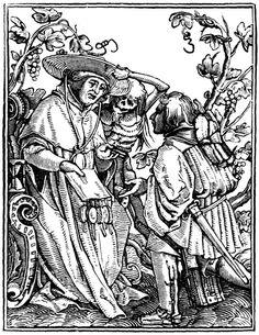 Artist: Holbein d. J., Hans, Title: »The Dance of Death« 9, The Cardinal, Date: 1524-26