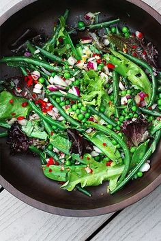 Green Bean Salad. Follow us @SIGNATUREBRIDE on Twitter and on FACEBOOK @ SIGNATURE BRIDE MAGAZINE