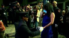 Bold Proposal From One Of New York's Bravest, Couple Gets Engaged At FDNY Graduation