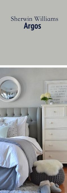 Neutral, calming Bedroom Paint Color
