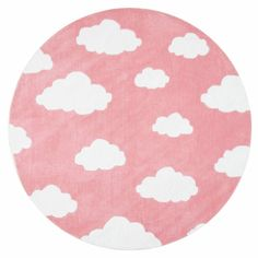 Viv + Rae Lily Cloudy Sachiko Hand-Tufted Pink Area Rug & Reviews | Wayfair Kids Area Rugs, Large Area Rugs, Round Area Rugs, Blue Area Rugs, Affordable Rugs, Clouds Pattern, Area Rug Sizes, Cow Hide Rug, Soft Colors