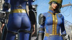 Vault Booty - Enhanced Female Vault Suit at Fallout 4 Nexus - Mods and community