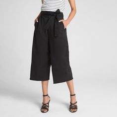 Check out the latest in women's pants at Gap. Shop women's pants trendy styles including leggings, skinny, joggers, wide leg pants, and more fits. Easy To Love, Travel Wardrobe, Nike, Black Tie, Wide Leg, Ideias Fashion, Gap, Personal Style, Legs