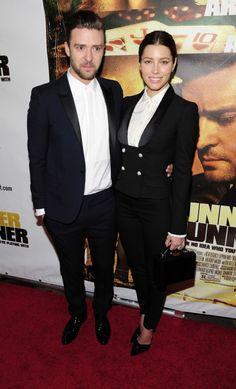 Justin Timberlake and Jessica Biel (2013) ♥