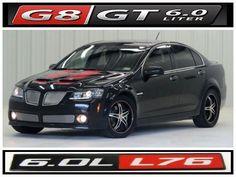 For Sale 08 G8 Gt Atlanta Onyx Sport Package