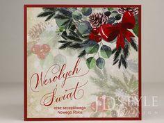 Otwierane kartki świąteczne biznesowe ręcznie robione.