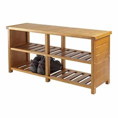 Keystone Shoe Bench -- could be good near garage entry …