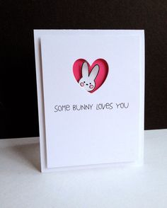 Reverse Confetti—Carton Cuties... and Quirky Cuties: Bebe Bunny for the sentiment.