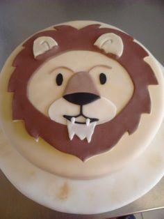 Löwen Geburtstagstorte