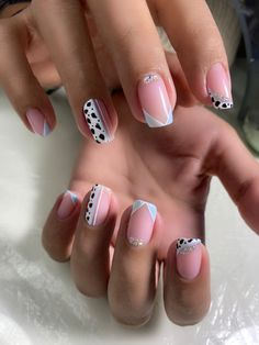 Manicure Nail Designs, Almond Nails Designs, Nail Manicure, Toe Nail Designs, Simple Nail Designs, Beautiful Nail Designs, Simple Acrylic Nails, Simple Nails, Classy Nails