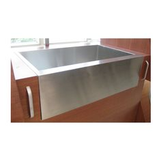 Great Stainless Apron Front Sink, $285