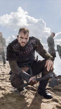 Gustaf Skarsgard Floki in Vikings - Modern Vikings Show, Vikings Tv Series, Watch Vikings, Viking Warrior, Viking Age, Viking Aesthetic, Viking Wallpaper, Ragnar Lothbrok Vikings, Skarsgard Family