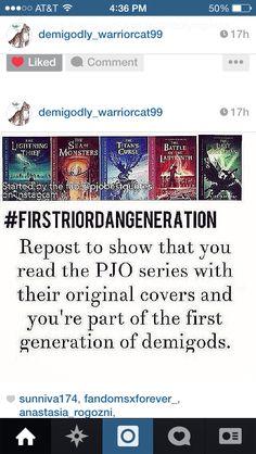 #FirstRiordanGeneration