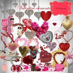 Scrapbooking TammyTags -- TT - Designer - Zirconium Scraps,  TT - Item - Element, TT - Theme - Love, Valentines, or Wedding, TT - Thing - Heart