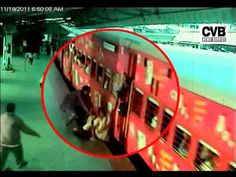 WOMAN DIES IN RUSH TO CATCH THE TRAIN, CAUGHT ON CCTV- LIVE VIDEO