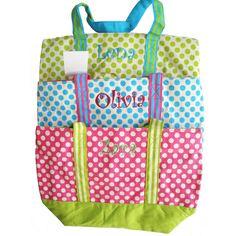 Polka Totes Cute #POlkadots #Totes #Polkadots www.shopatpolkadots.com