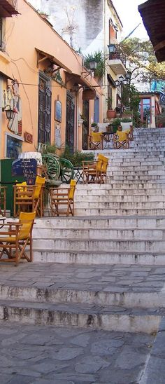 Plaka (The Old City), Athens, Greece