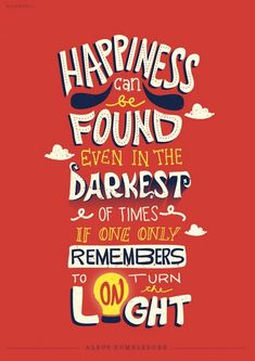 Eye-Catching Typographic Illustrations Of Memorable Quotes From Books & Movies - DesignTAXI.com