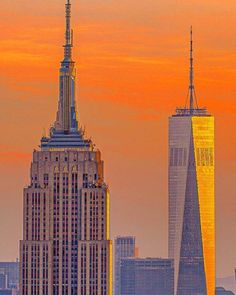 One World Trade Center, Trade Centre, Empire State Building, First World, Travel, Viajes, Destinations, Traveling, Trips