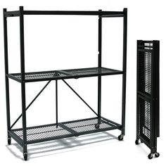 Foldable shelves