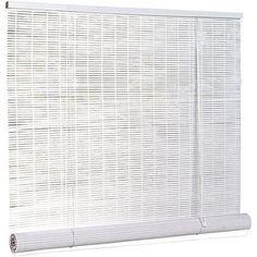 "1/4"" Oval PVC Blind, White, 120"" x 72"" - Walmart.com"