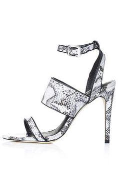RITA Croc Effect Sandals * Shoeinspiration * The Inner Interiorista