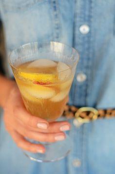Apple Ginger Rum Cocktail